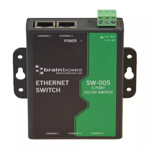 SW-005 - 5 Port Unmanaged Ethernet Switch Wall Mountable