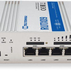 Teltonika RUTX09 - LTE-A CAT6 DUAL-SIM ROUTER