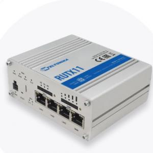 Teltonika RUTX11 router with Dual-SIM