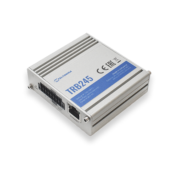 Industrial LTE Cat 4 Gateway TRB245